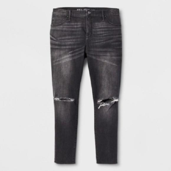 e330072b5554d8 Ava & Viv Jeans | Destructed Jegging Plus Size 24w R Nwt Ava Viv ...